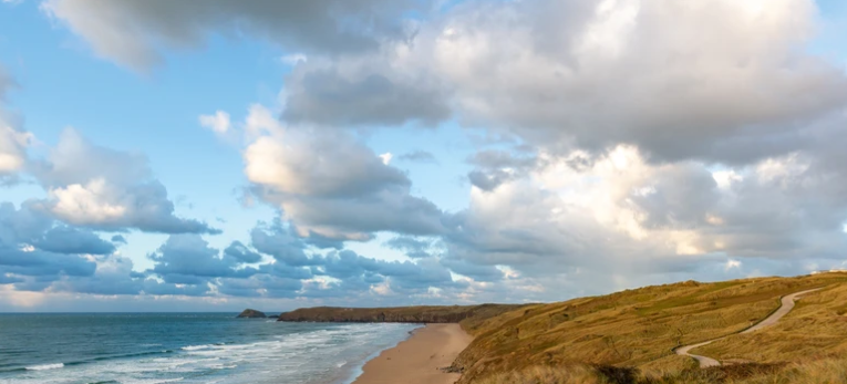 Perran Sands Holiday Park in Cornwall