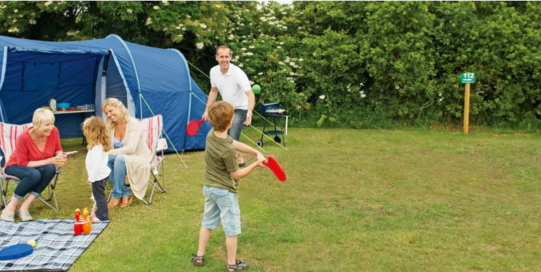 Touring and Camping at Littlesea